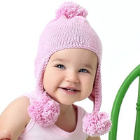 Triple Bounce Hand Knit Baby Hat - Chizipoms