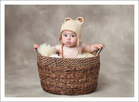 Little Bear Crocheted Hat - Chizipoms