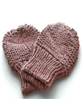 Mittens: style 1 in light brown - Chizipoms