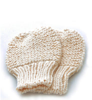 Mittens: style 1 in cream - Chizipoms