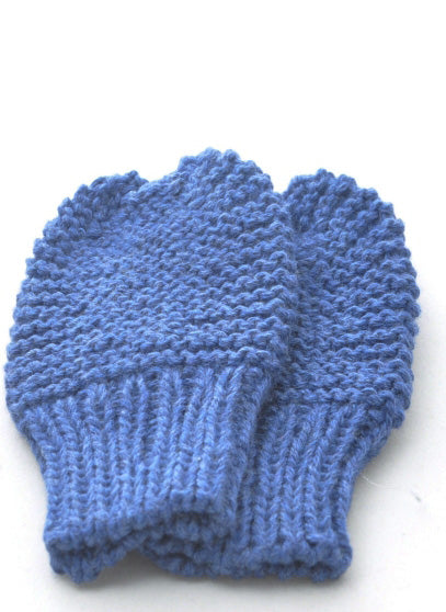 Mittens: style 1 in navy blue - Chizipoms