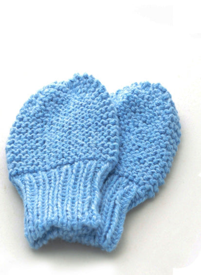 Mittens: style 2 in blue - Chizipoms