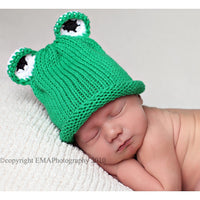 Ribbit, Ribbit Knitted Hat - Chizipoms