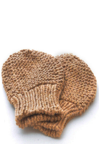 Mittens: style 1 in Tan - Chizipoms