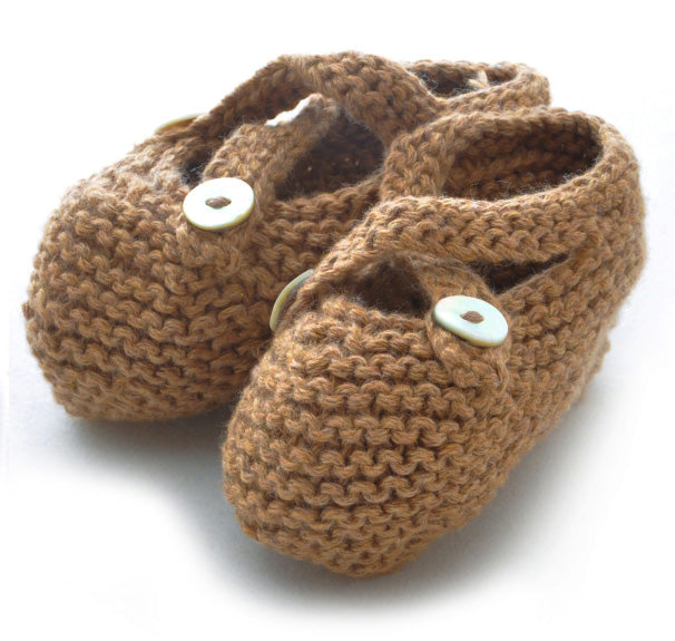 Booties: style 2 in Tan - Chizipoms