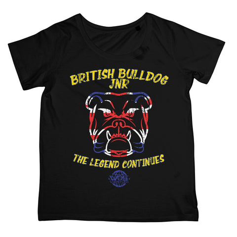 British Bulldog Jnr Womens T-Shirt