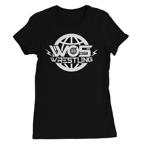 W WOS Wrestling Women's Favourite T-shirt