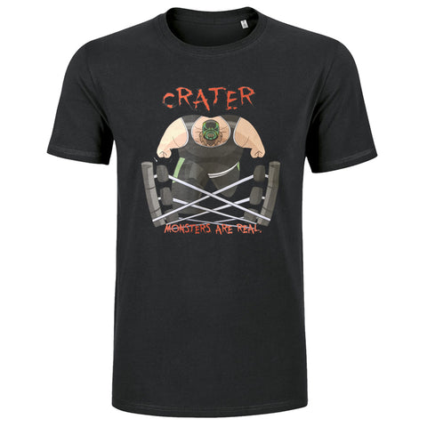 "Crater ""Monsters Are Real"" T-Shirt"