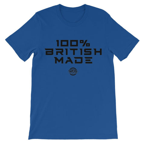 100% British Made 100% British Made WOSW Kids' T-Shirt