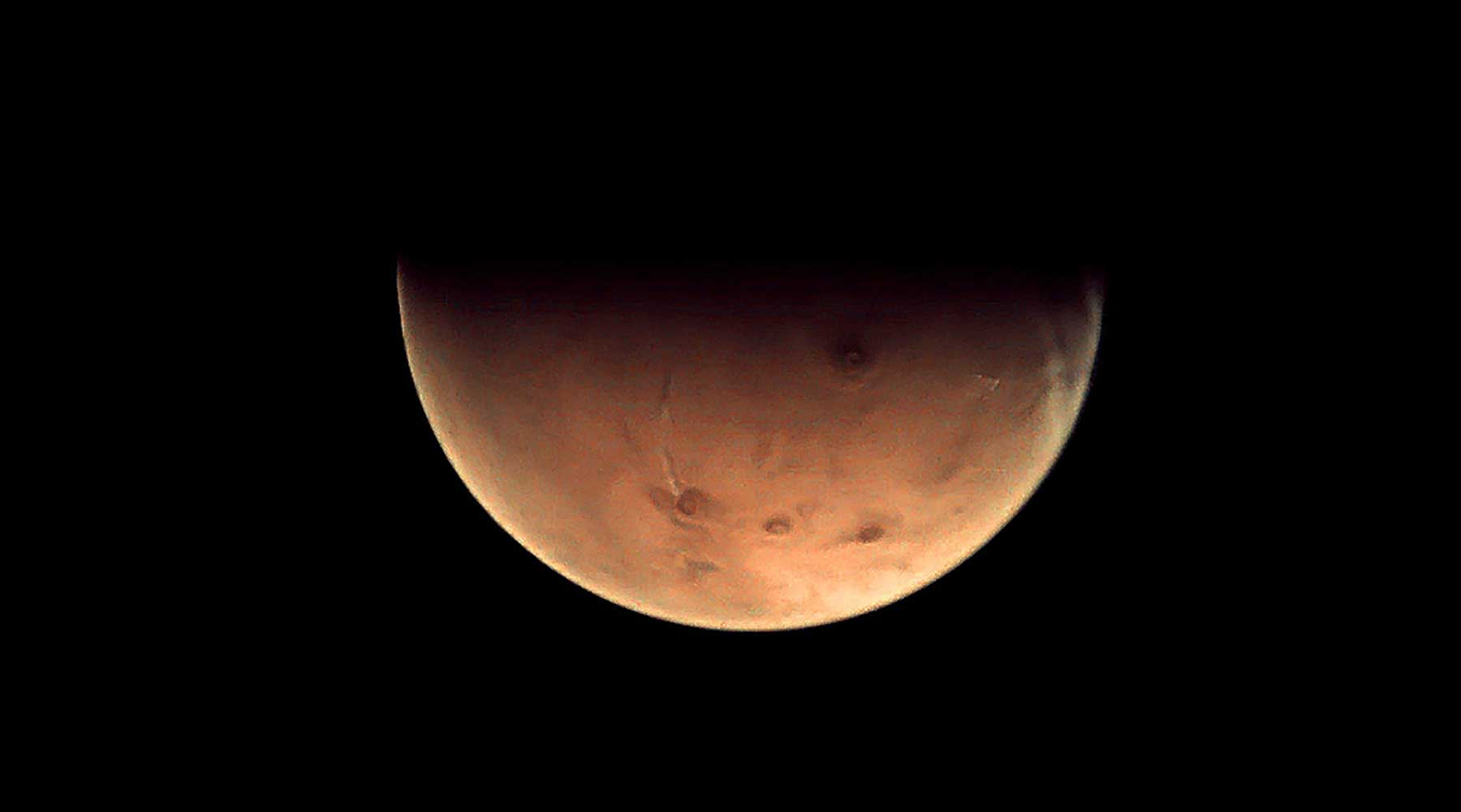 Mars in Vedic Astrology - Photo credit: ESA