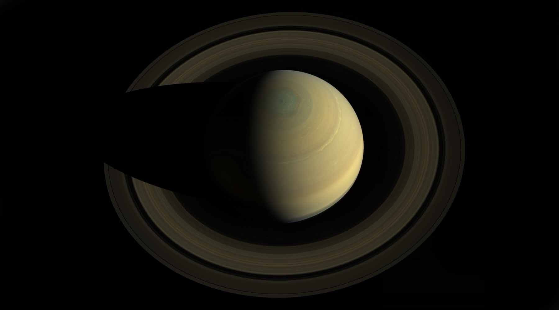 Saturn in Vedic Astrology - Photo credit: NASA, JPL
