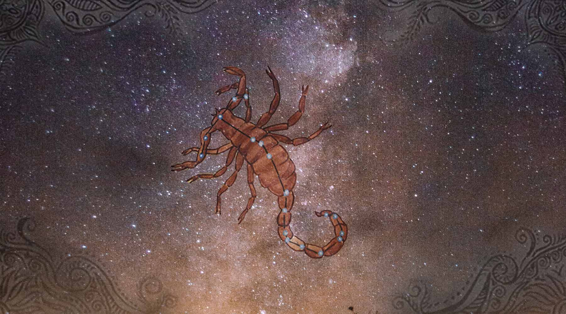 What does Scorpio represent in Vedic Astrology?