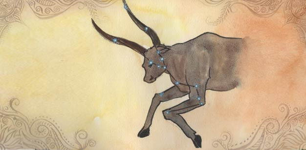 Taurus Sign Painting in Vedic Astrology