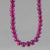 "Ruby Rondelle Graduated 16"" Necklace, 225 ct"