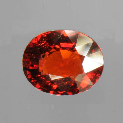 Red Spessartite Garnet 4.12 ct