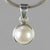 Pearl 4.5 ct Freshwater Pearl Sterling Silver Pendant