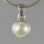 Pearl 5 ct Freshwater Pearl Sterling Silver Pendant