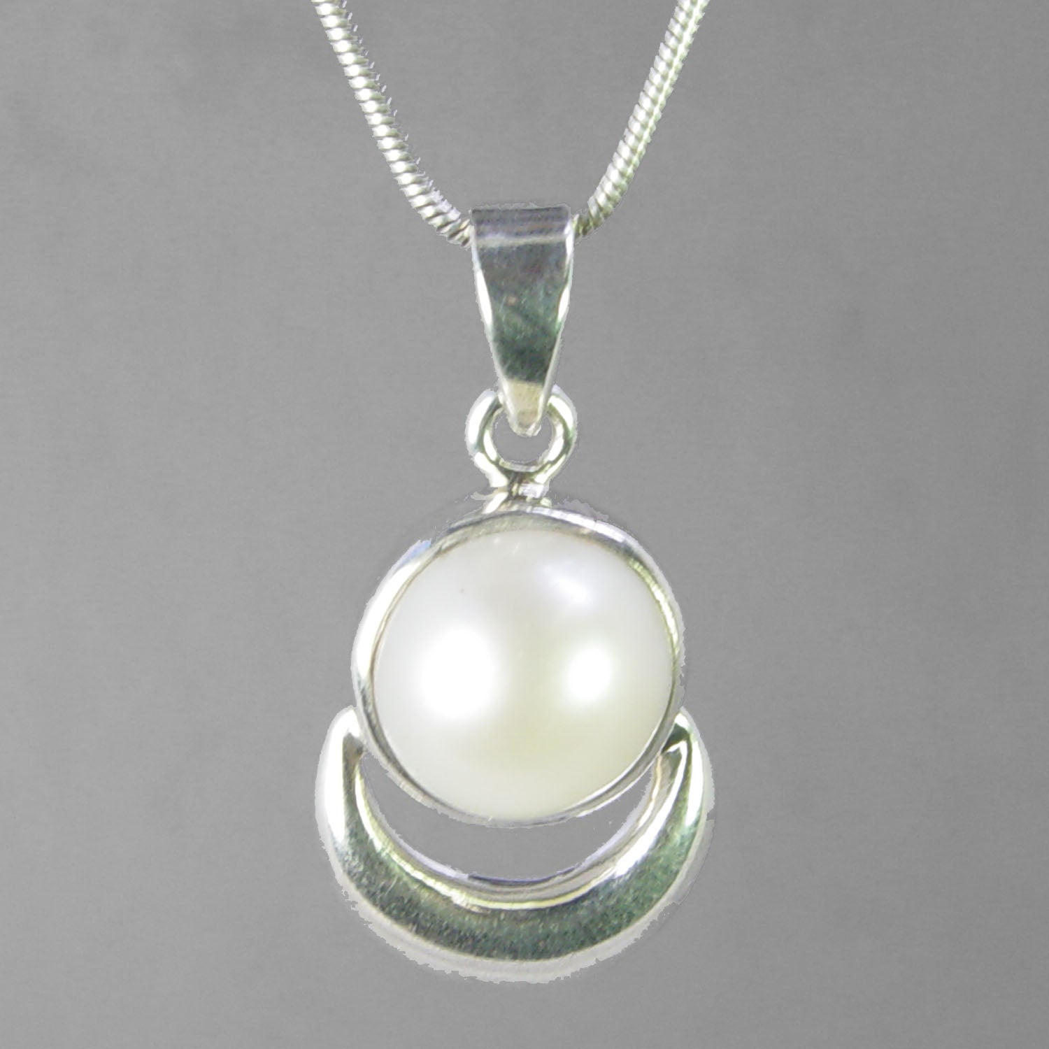 Pearl 9.8 ct Freshwater Pearl Sterling Silver Pendant