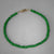 Emerald Faceted Rondelle Bracelet - 35 CTW