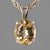 Yellow Topaz 5.3 ct Oval Prong Set 14KY Gold Pendant