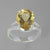 Citrine 5.0 ct Oval  Prong Set Sterling Silver Split Shank Ring, Size 8