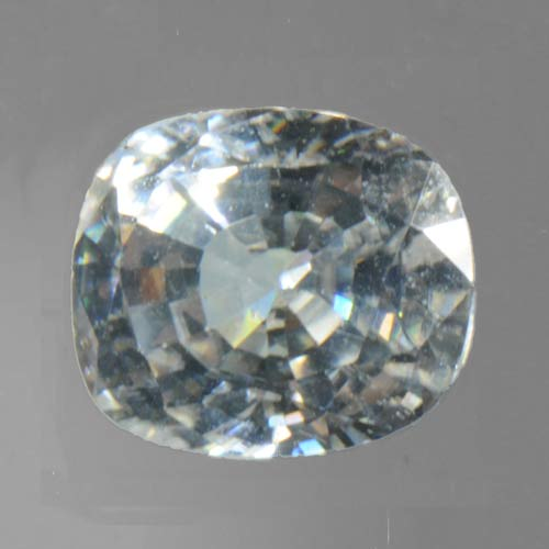 White Zircon 8.04 ct