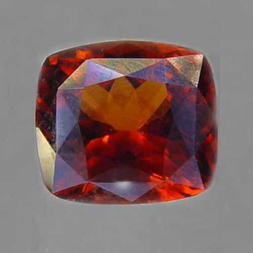 Red Hessonite Garnet 7.75 ct