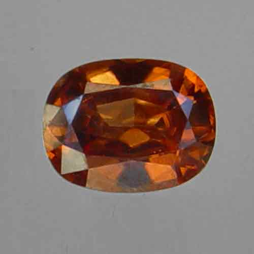 Orange Red Zircon 2.67 ct