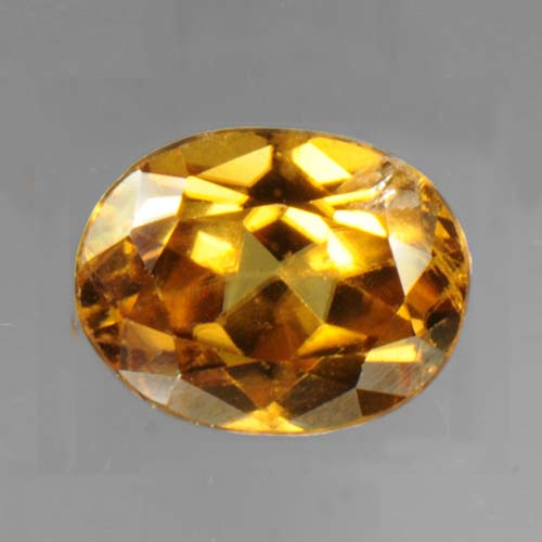 Orange Red Zircon 3.0 ct