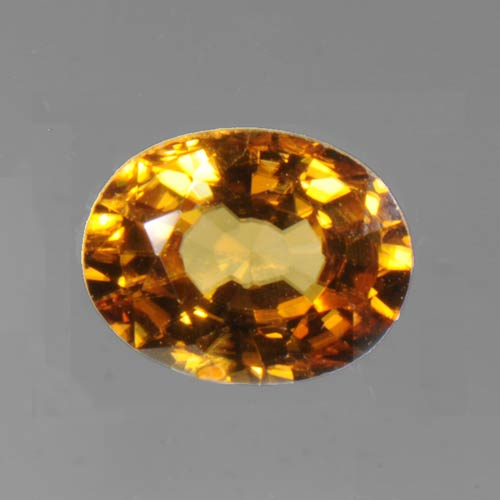 Orange Red Zircon 3.05 ct