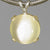 Moonstone Cat's Eye 6.1 ct Round Cab Sterling Silver Pendant