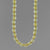 "Citrine Round Bead with Accents 16"", 18"", 20"" or 24"" Necklace"
