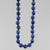 "Lapis Lazuli Round Bead with Accents 16"", 18"", 20"" or 24"" Necklace"