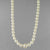 "Pearl Round 3.5 - 7 mm A Graduated 16"" or 17"" Necklace"
