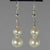Pearl Round Ball Drop Earrings
