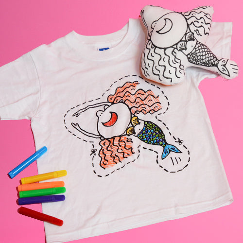 Colour-in your T-shirt