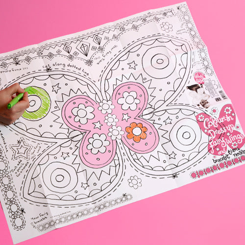 Colour-in Fancy Dress - Mums Toolbox