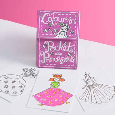 Colour-in Pocket Books