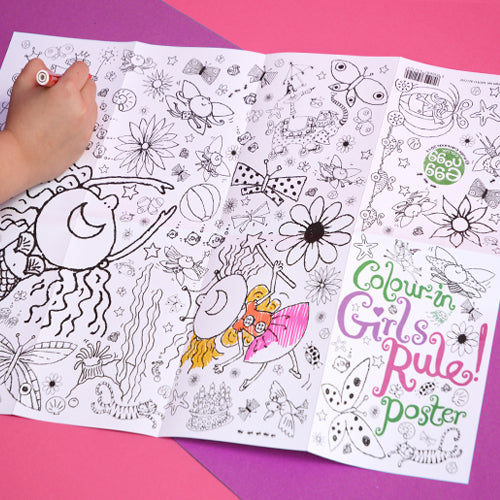 Colour-in Poster