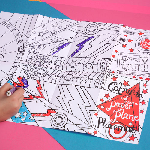 Colour-in Placemat - Mums Toolbox