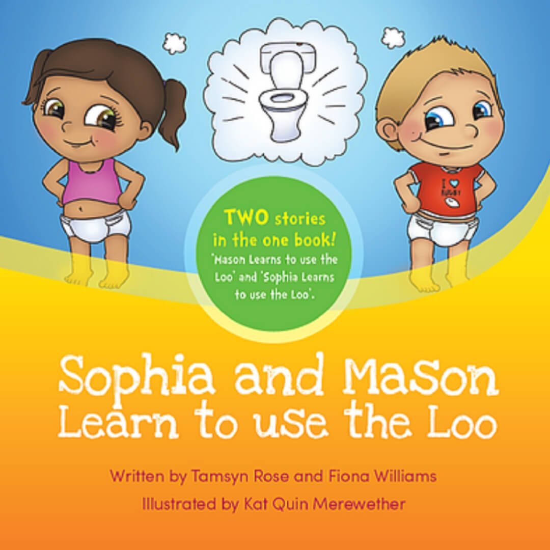 Sophia and Mason Learn to use the Loo