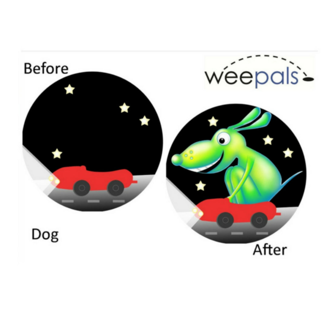 WeePals - Toilet Aiming Stickers