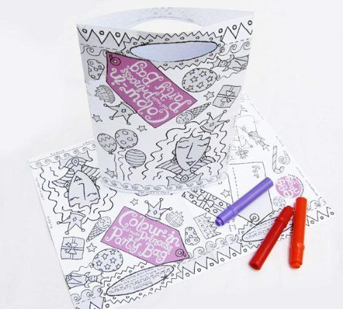 Colour-in Party Bags - Mums Toolbox