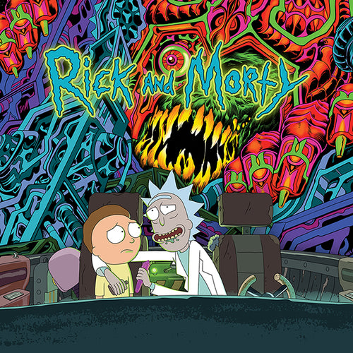 THE RICK AND MORTY SOUNDTRACK - 2LP