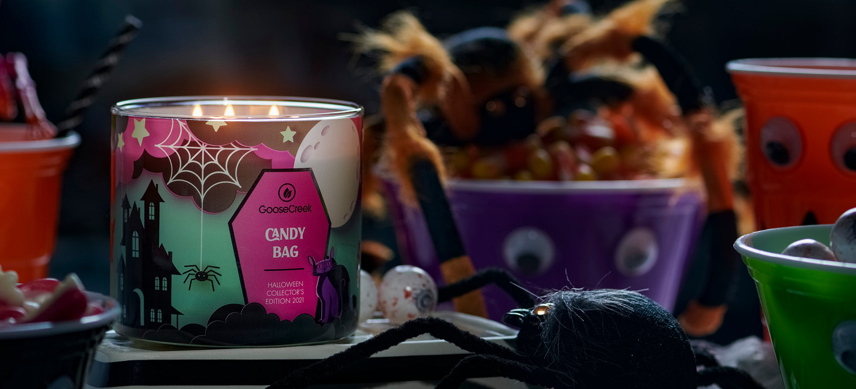 Halloween Scented Candles Halloween Jar Candles Goose Creek Candle