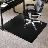 Black Chair Mat - Welcome to Myfloormat.com