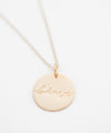 'Brave' Coin Necklace