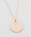 'Home of the Free' Coin Necklace