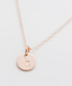Statue of Liberty Tiny Coin Necklace