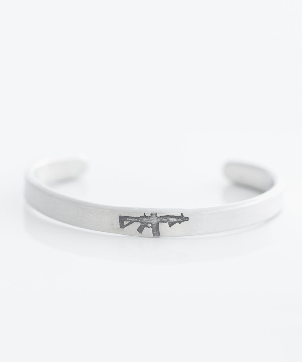 Freedom Rifle Cuff Bracelet